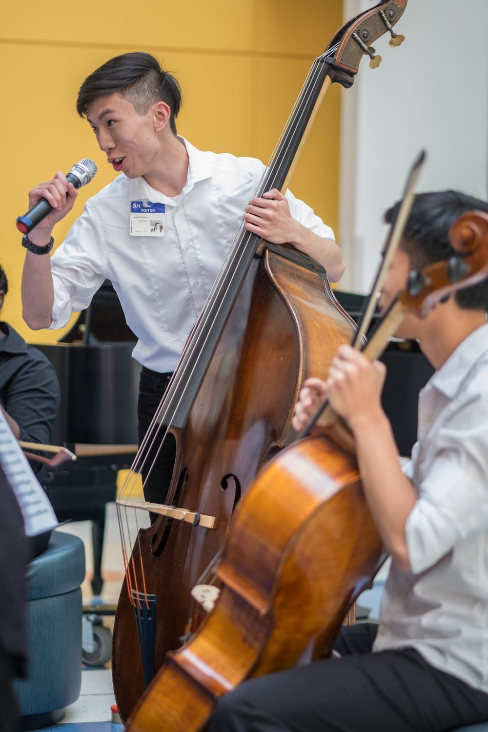 Raymond Zhang, double bass, Drexel University