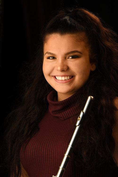 Malinda Voell, flute