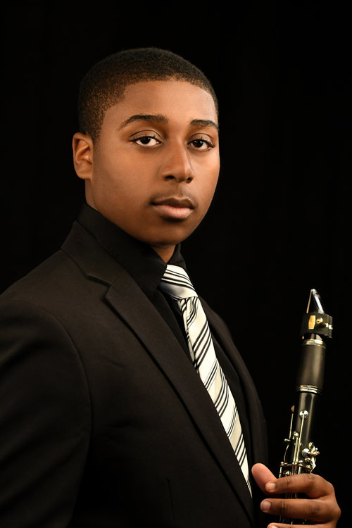 Na'Zir McFadden, clarinet