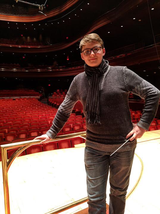 Oleksandr Kashlyuk, bassoon, aspiring conductor