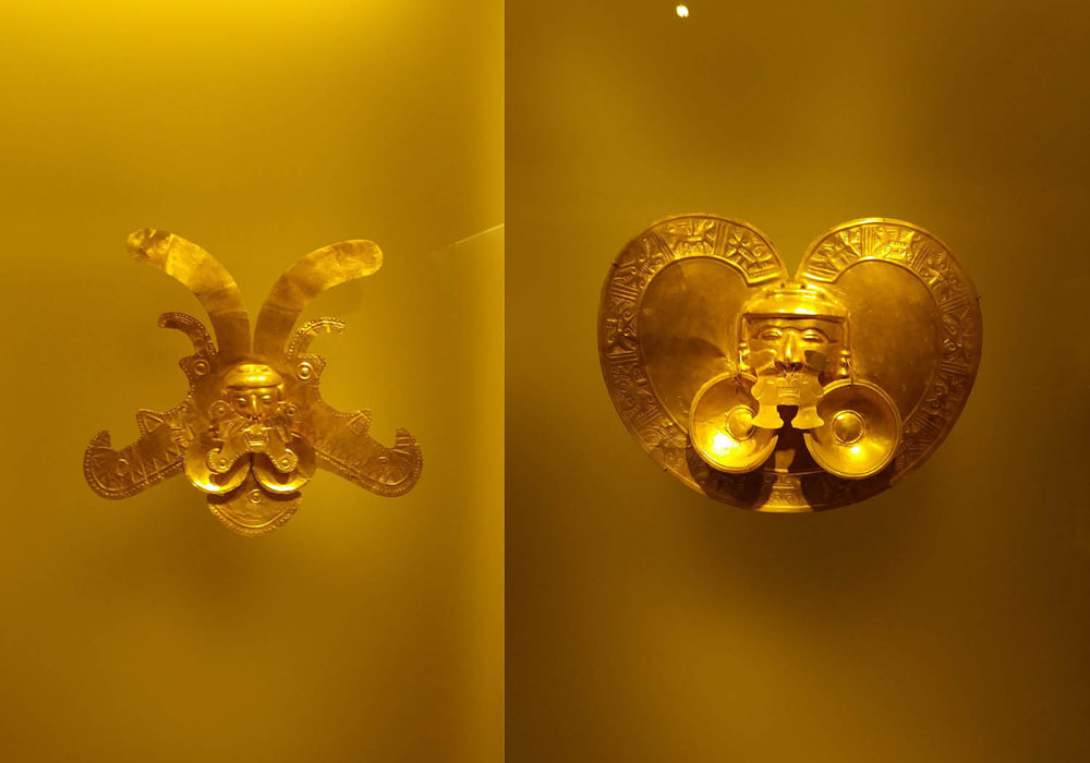 Display at the Gold Museum