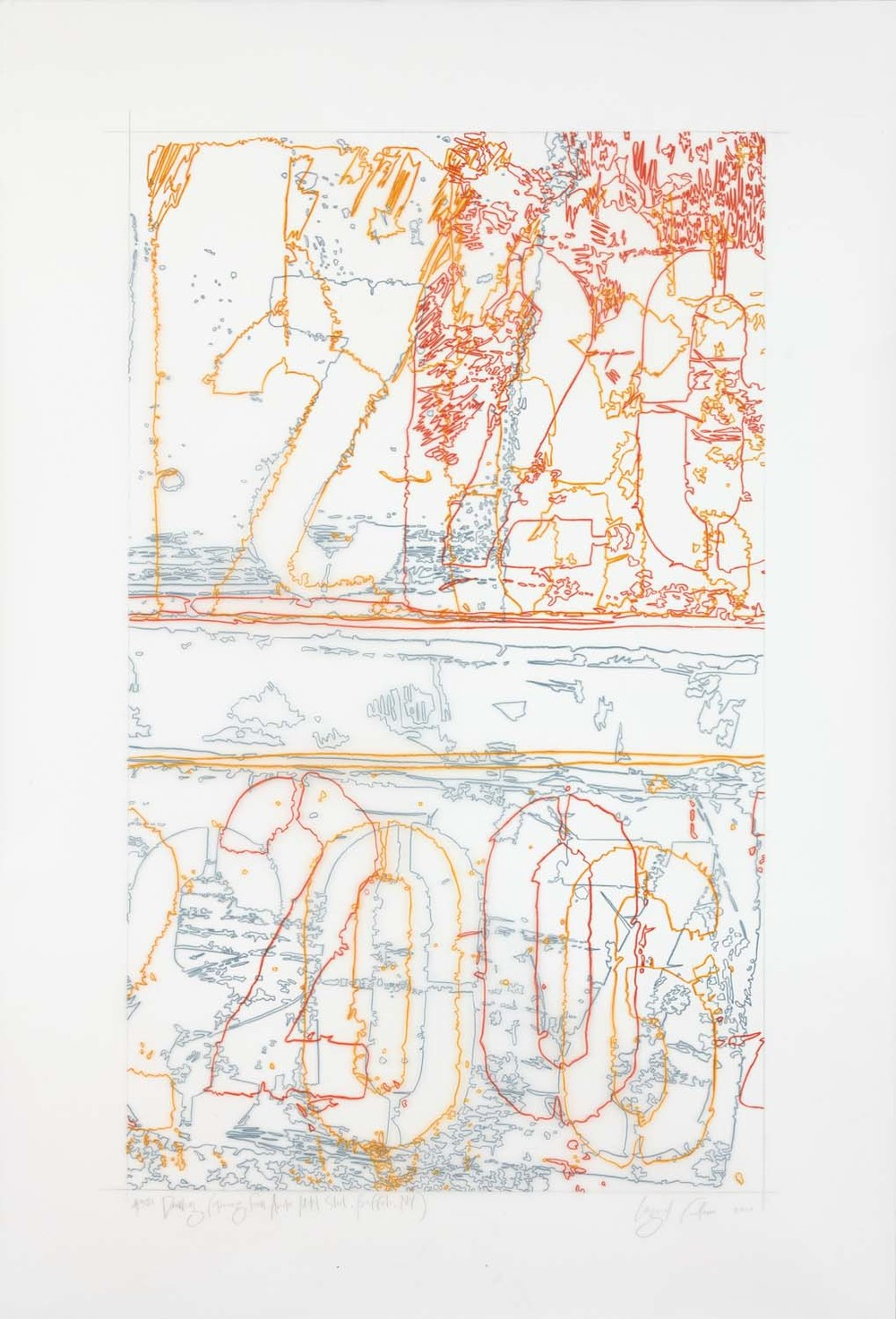 #321 Drawing (Tracings from ArcelorMittal Steel, Buffalo, NY)