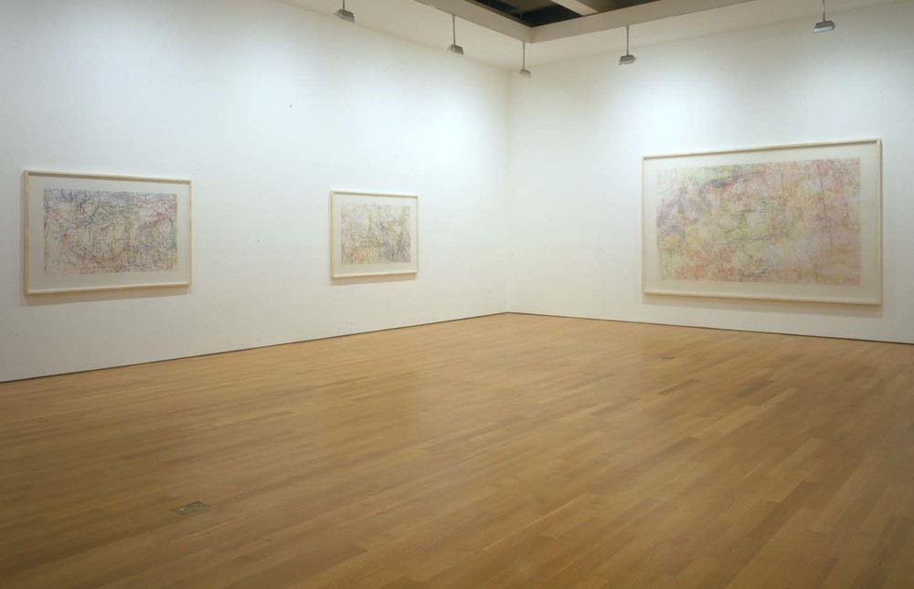 "Installation view of ""Ingrid Calame""  at  James Cohan Gallery, NY, NY 2005"