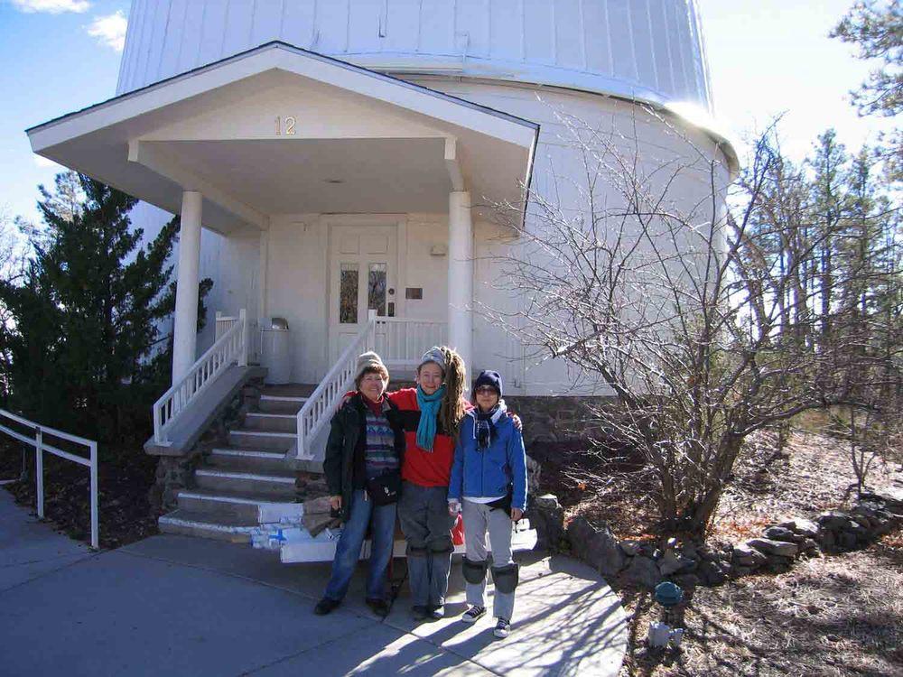 Clark Telescope Dome, Flagstaff, AZ, 2005