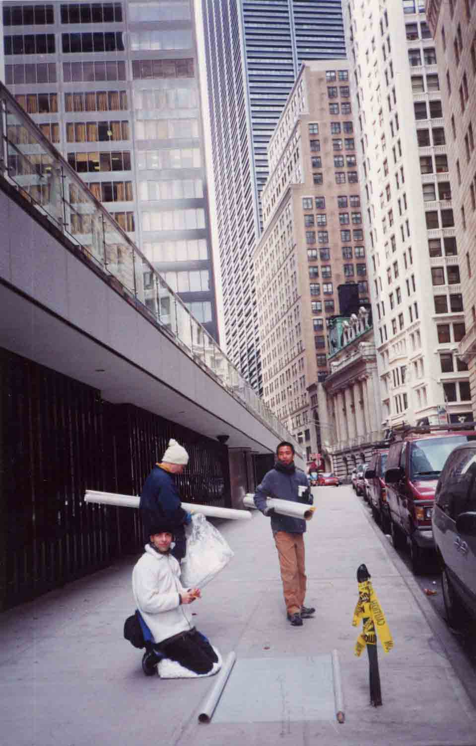 Wall Street, New York, NY, 2001