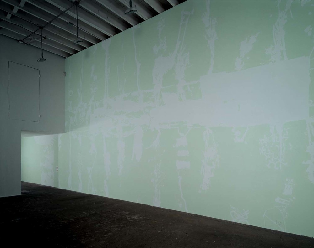 """Secular Response 1A,"" installed in ""Twlsptptpptptsl...,"" Deitch Projects, New York, NY, 2000"