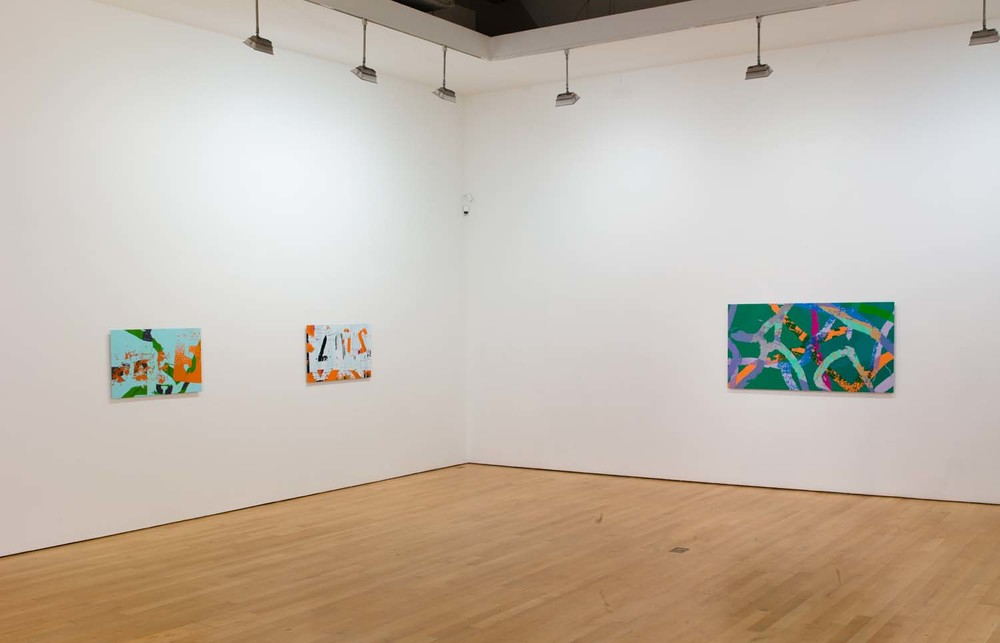 """Ingrid Calame: Swing Shift,"" James Cohan Gallery, New York, NY, 2010"