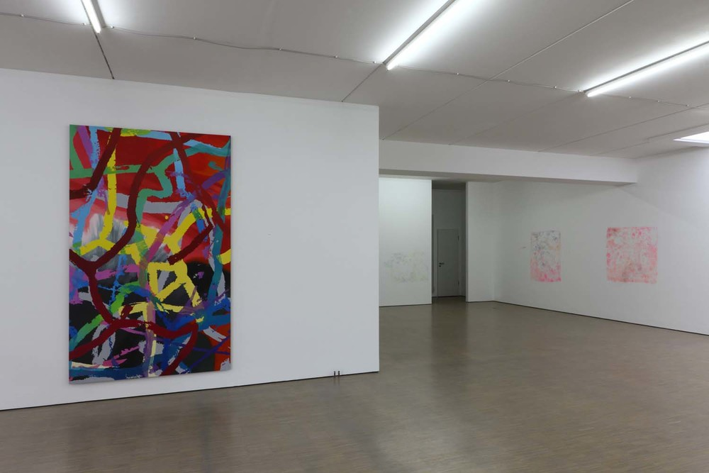 """Numbers, Cracks, Words"", Galerie Schmidt Maczollek, Cologne, Germany, 2013"