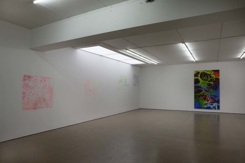 """""""Numbers, Cracks, Words"""", Galerie Schmidt Maczollek, Cologne, Germany, 2013"""