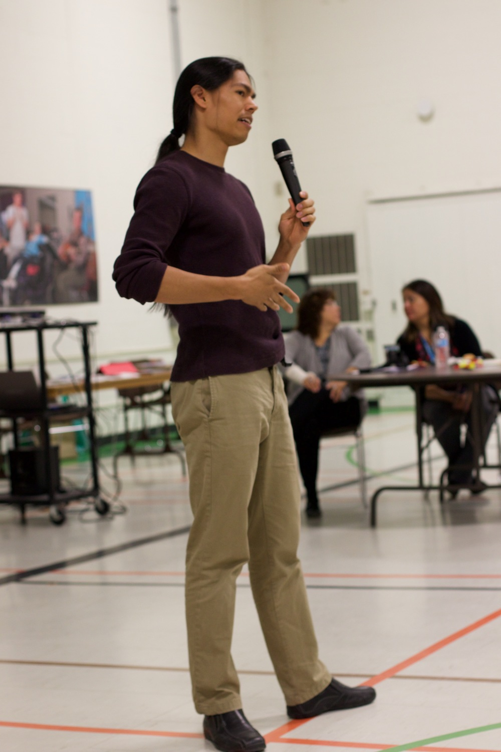 Keynote speaker at the TVDSB FNMI Year-End Gathering (2015)