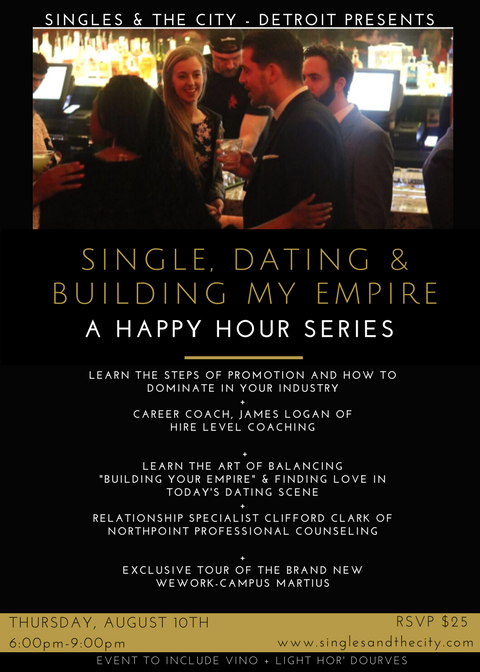 YOU'RE INVITED TO OUR EXPLOSIVE HAPPY HOUR SERIES: