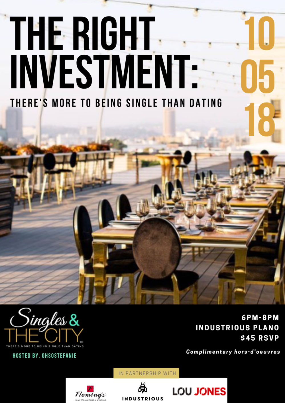Singles activities in dallas