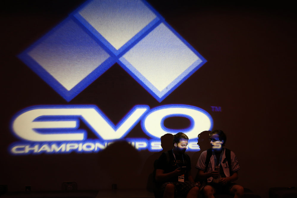 The Evolution Championship Series, referred to as EVO, is the largest fighting-game event of the year where players gather in Las Vegas, Nevada. It's prestige and prize pool draws in the best competitors from all over the world. © Gail Fisher for ESPN