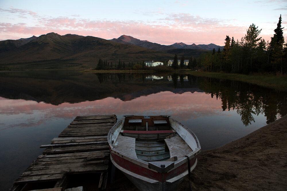 Denali Lake, Alaska © Gail Fisher