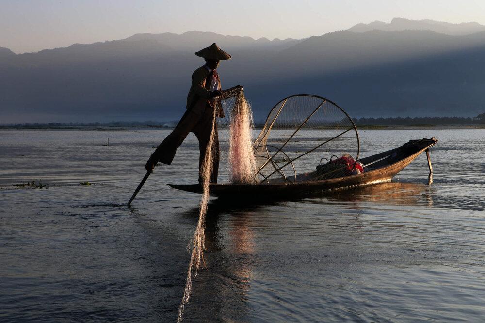 Inle Lake, Myanmar (Burma) @ Gail Fisher