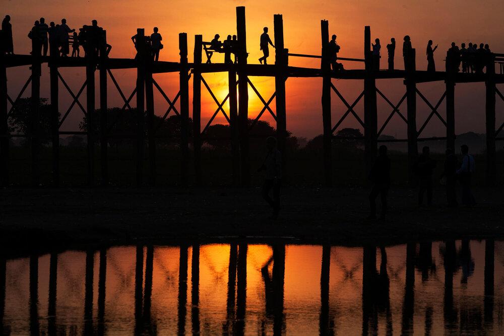U Bein Bridge, Amarapura Myanmar (Burma) © Gail Fisher