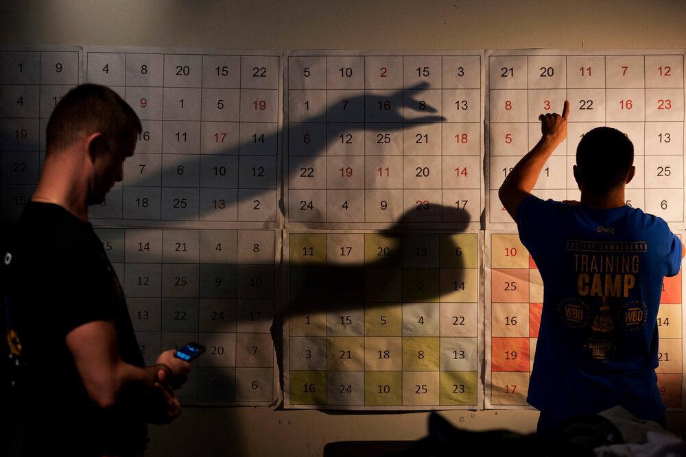 Boxing Laboratory, Oxnard, California © Gail Fisher for ESPN