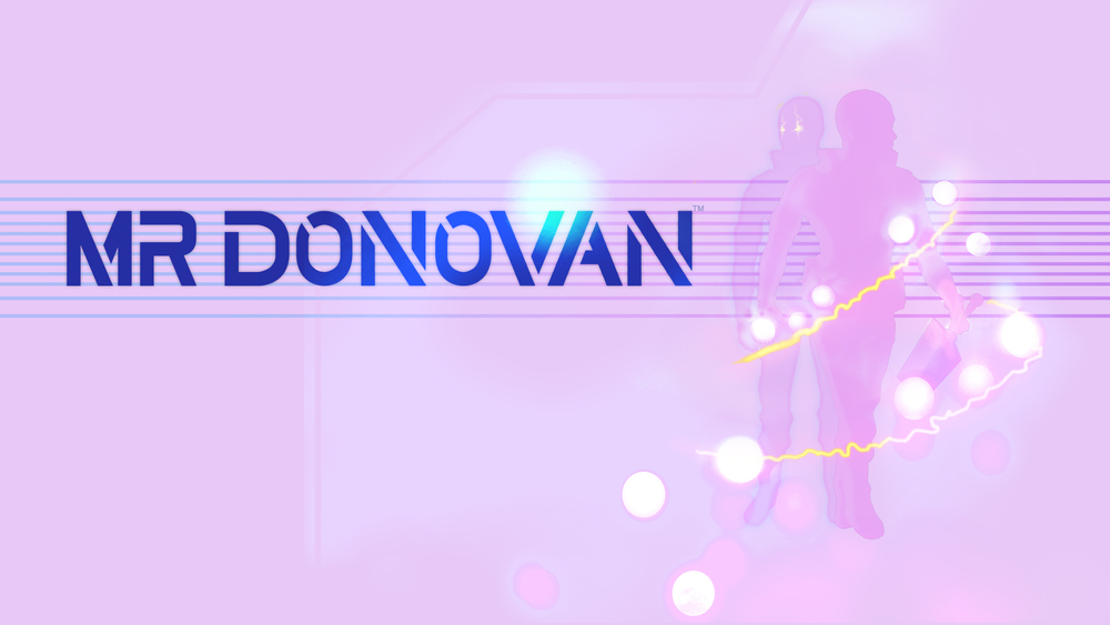 Mr Donovan Promotional Poster Pink