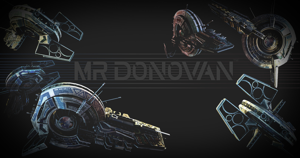 Mr Donovan Promotional Logo Ships