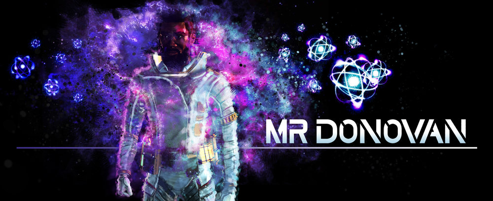 Mr Donovan Promotional Logo Atoms