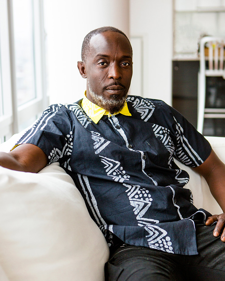 Fashion Against The Grain: Michael K. Williams