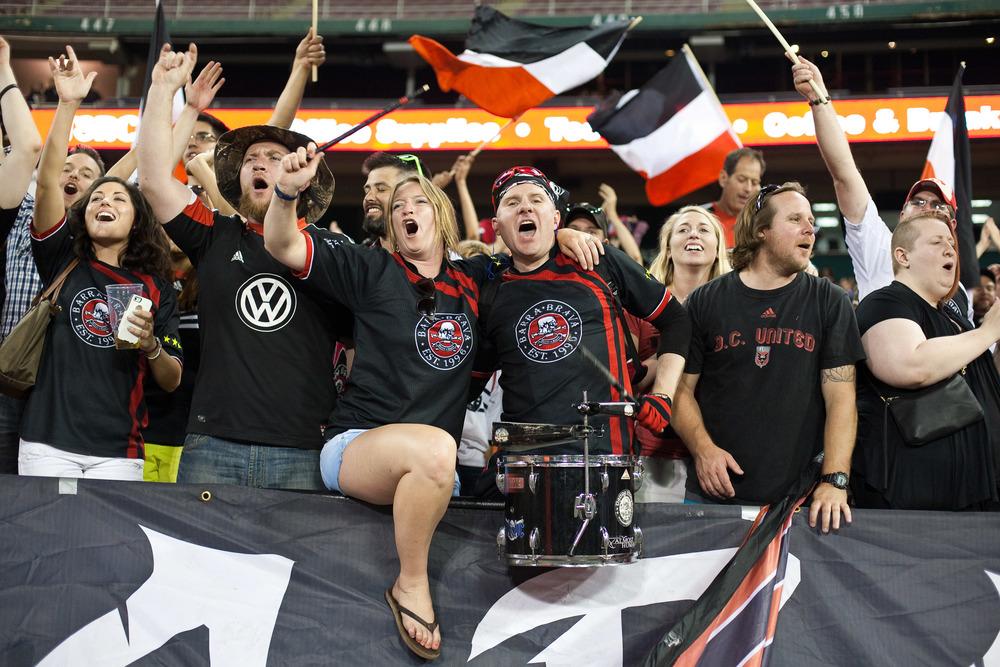 D.C. United Fans