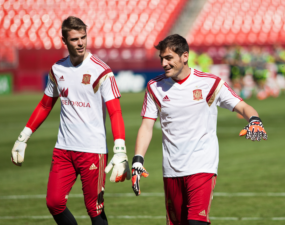 Iker Casillas (r) & David De Gea