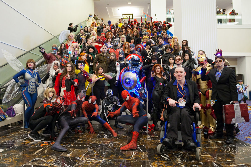 Marvel Comics Cosplayers