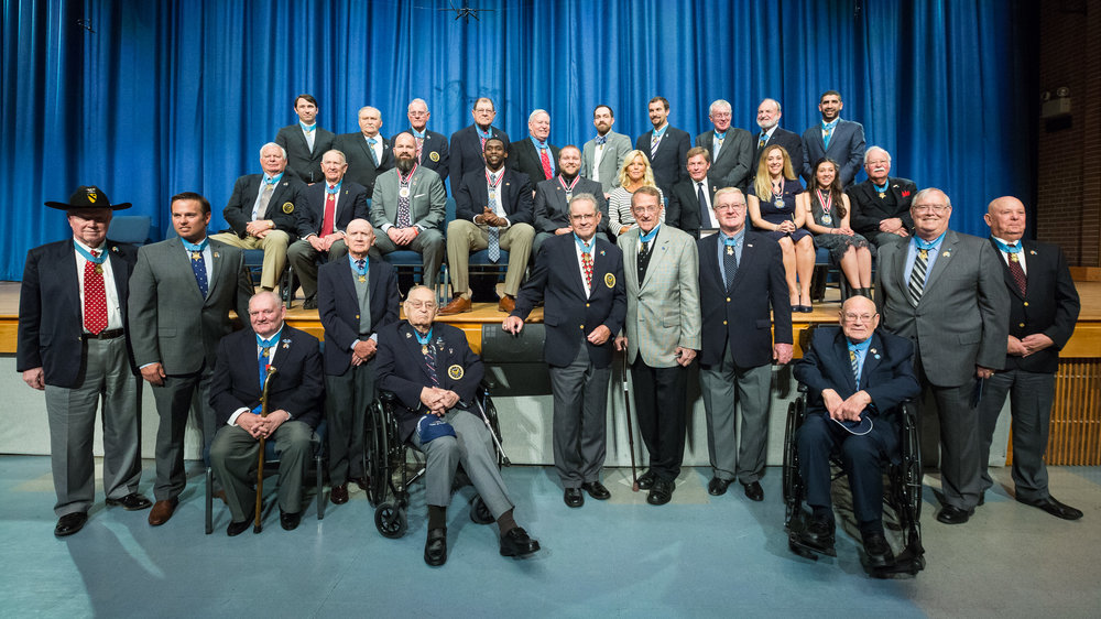Congressional Medal of Honor Recipients and Citizen Honors Award Recipients