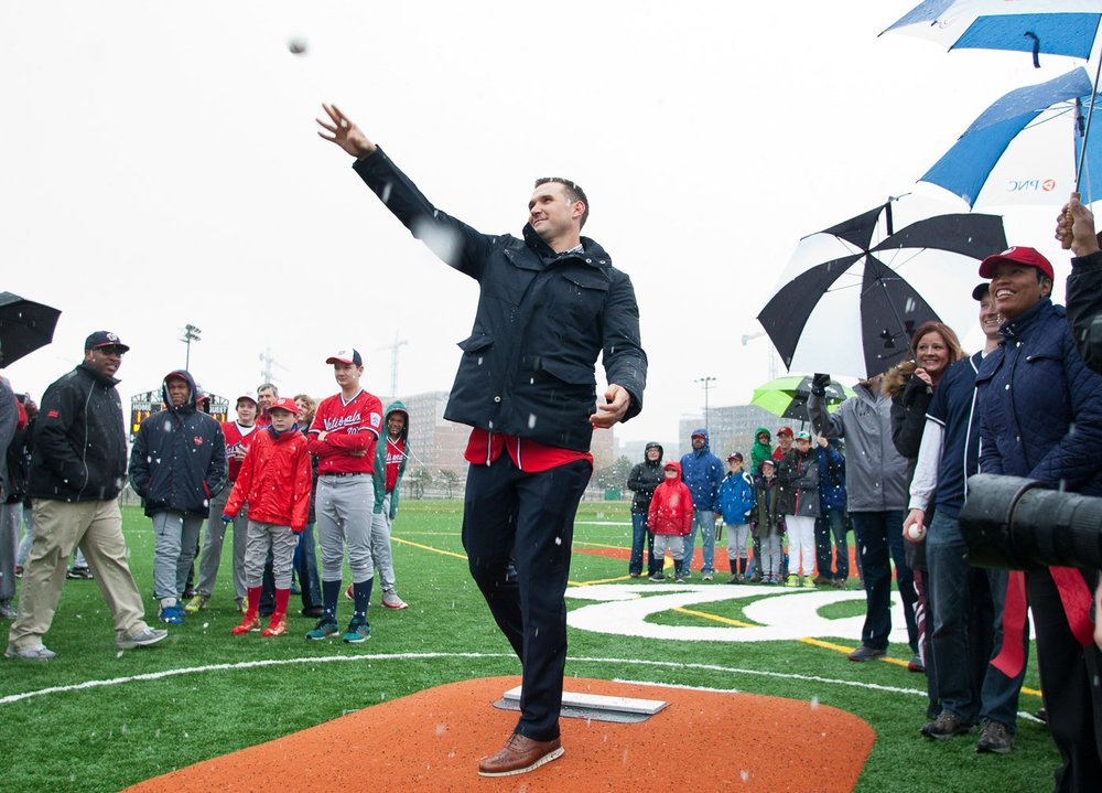 Dedication of Ryan Zimmerman Field