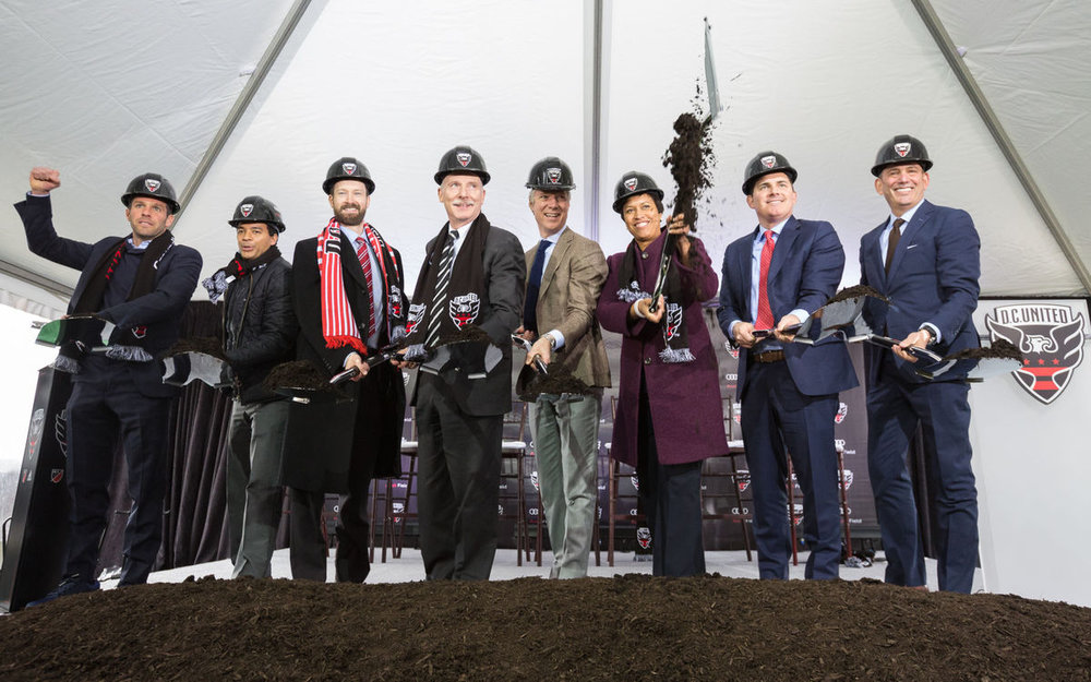 New D.C. United Stadium Breaks Ground