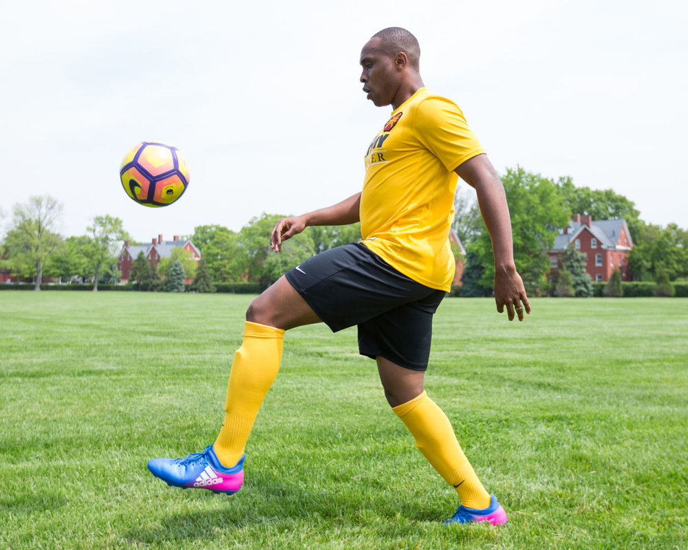 All-Army Soccer Player
