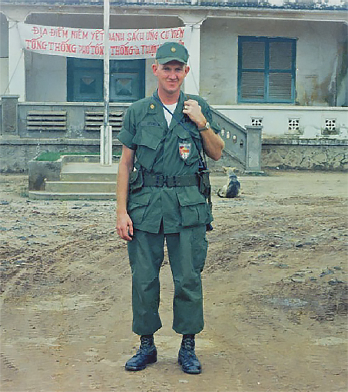 Maj. Floyd Spencer, Cu Chi, Vietnam