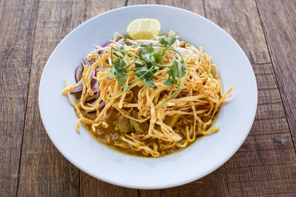 Spicy Chicken Khao Soi