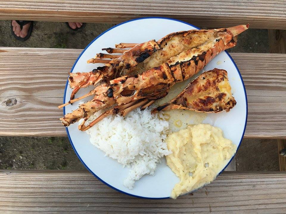 Fresh Lobster On Caye Caulker