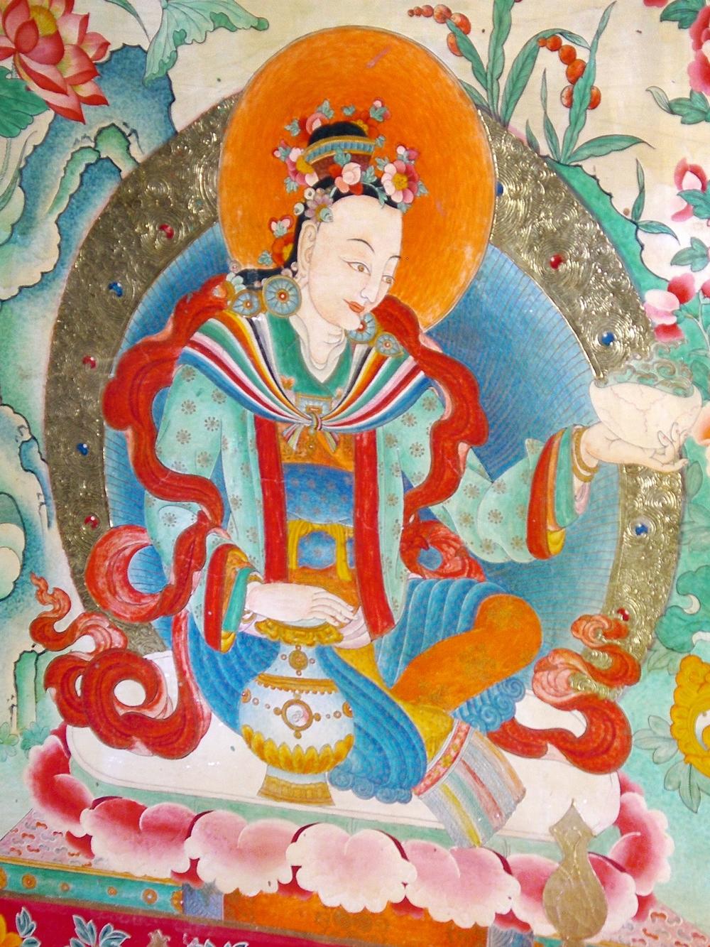 Samye fresco, Tibet