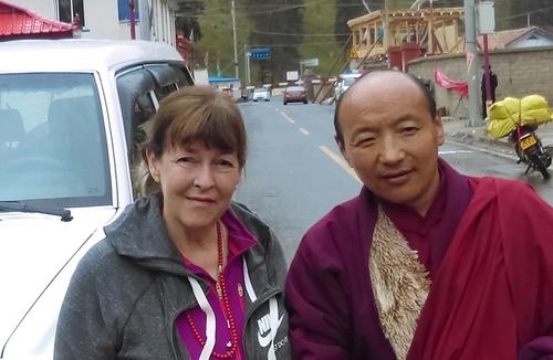 Lama Dechen Yeshe Wangmo & Lama Rinchen, 2016.