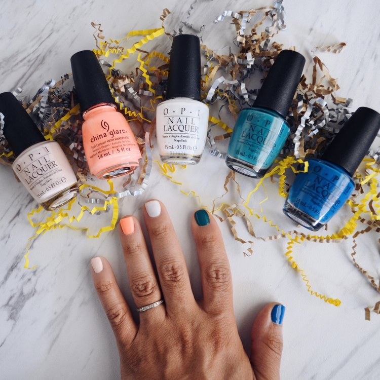 5 Spring Nail Polish Colors — HOUSE OF MARK