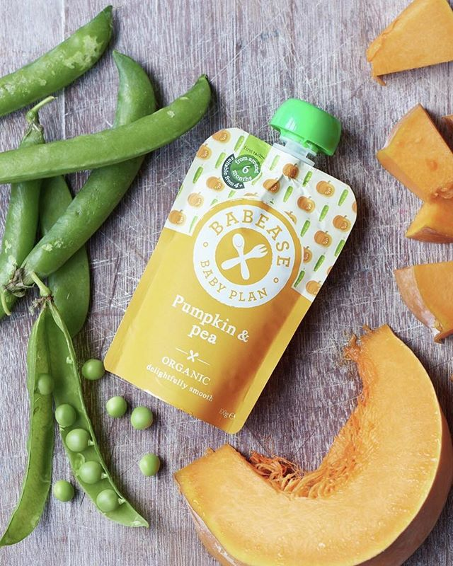 Our Pumpkin & Pea pouch is exactly that; 63% Organic Pumpkin, 33% Organic Peas, 4% water for a smooth consistency. 100% flavour and perfect for Stage 1 babies. We're obsessed with taste and with that's why we recommend introducing your little one to savoury tastes first - starting with vegetables means your little one will experience a variety of textures and flavours, setting them up for the variety they'll experience during meals with the whole family. . . . #baby #babyfood #babylove #weaning #weaningjourney #vegetableledweaning #complementaryfeeding #babease #babeasehack #firsttastes #pumpkin #pumpkin&pea #organic #organicbabyfood #foodie #futurefoodie #foodstartup #madeintheuk