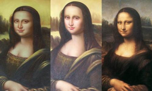 Monalisa art forgery