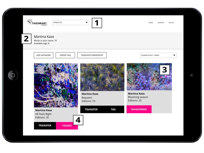 Tagsmart Certify Digital Catalogue