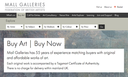 Tagsmart and Mall Galleries