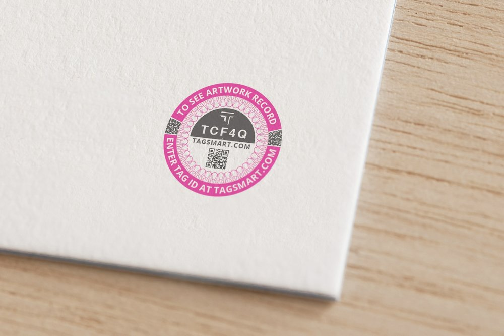 DNA Tags - Identify your artwork with a cutting-edge DNA tag that is discreet, tamper-proof and easy to apply.