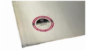 tagsmart certificate art aluminium art work
