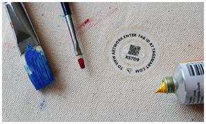canvas tag  tagsmart certificate art
