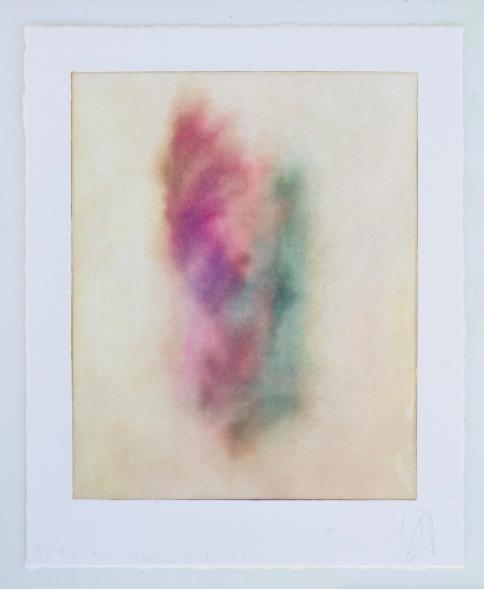 Trauma I v.iv,  Solar plate print, 25.2×20.3 cm, 2017