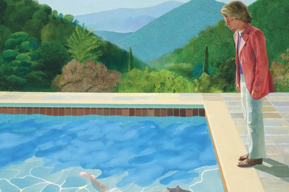 David Hockney Swimming Pool Tagsmart