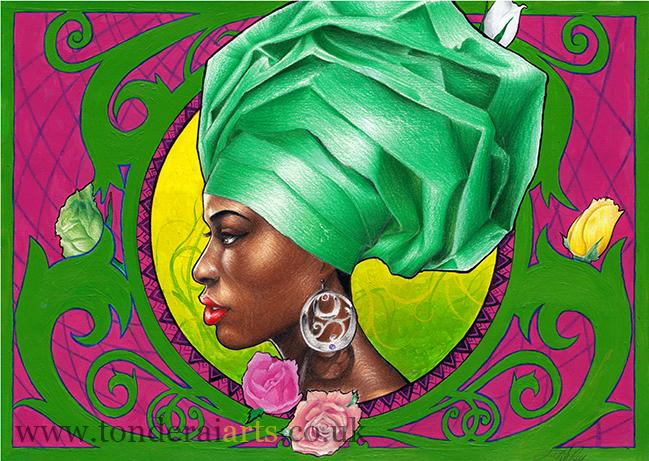 Yoruba Rose