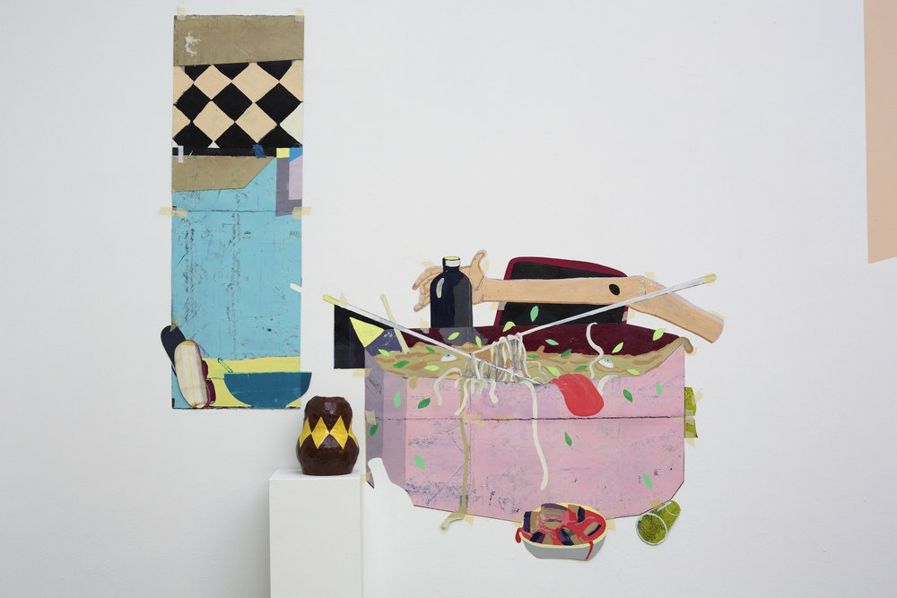 Chris Dolman, Anxious Interiors (detail), courtesy the artist and Galerie Pompom. Photo: Ian Hobbs
