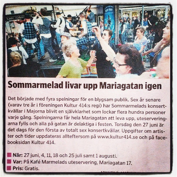 Woohoo! #sommarmelad #gbgftw